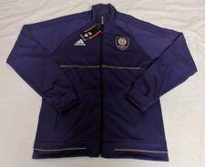 Adidas Mens Orlando City MLS Anthem Full-Zip Jacket Sz L