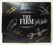 *THE FIRM CAST SIGNED X8 LEGAL LAWYER BRIEFCASE PHOTO AUTHENTIC AUTOGRAPHS RARE*