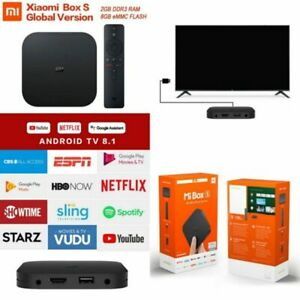 Xiaomi Mi Box S 4K HDR Android TV Streaming Player Google Assistant
