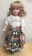 GAIL KAREN 20 INCH DOLL MODERN PORCELAIN REPRODUCTION HEAD/ COMPO BODY