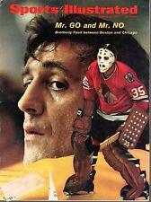 1971 Sports Illustrated magazine, Hockey Tony Esposito Chicago Blackhawks ~ FLpR