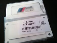 Genuine BMW New M Sport Side Wing Emblem Badge 51148058881 x2