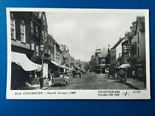 CHICHESTER: NORTH STREET, c1899 - NICE COLLECTORCARD POSTCARD!