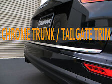 CHROME TAILGATE TRUNK TRIM MOLDING ACCENT KIT FOR01