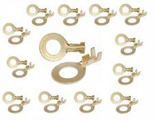 50 x M6 Ringkabelschuhe Ringösen unisoliert (LA) -