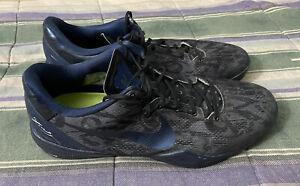 Nike ID Kobe 8 System Blue Black Men's Size 15 X Navy Wtk What The Legend