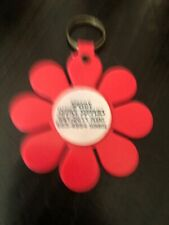 Vntage 70s Plastic Flower Keychain Speedy Office Supply.