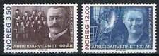 Noorwegen postfris 1993 MNH 1133-1134 - Arbeiders Bescherming