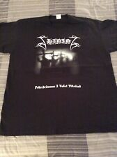 SHINING Feberdrommar I Vaket Shirt XL,Gorgoroth, The Chasm, Inquisition, Azarath