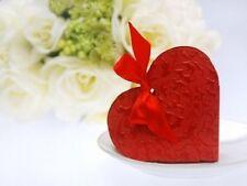 Altre decorazioni rosse in carta per il matrimonio
