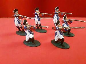 Lod Revolutionary  War 1/32  British Grenadiers  Set 2 Plastic Painted Toy...