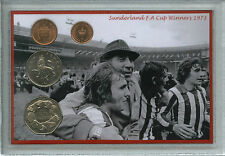 Sunderland Vintage F.A Cup Final Winners Bob Stokoe Retro Fan Coin Gift Set 1973