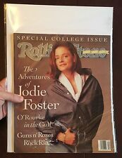 Rolling Stone Magazine 600 Jodie Foster Sting March 21 1991