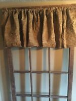 "15"" LONG PRIMITIVE GRUNGY VALANCE"