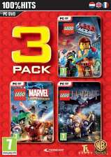 LEGO 3 Games Pack - PC DVD - brand new and factory sealed