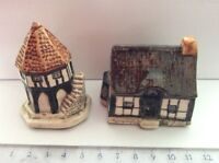 Tey Pottery Countryside Collection Britain in Miniature. No. 26   No. 28. ExC