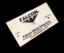 FALCON MD20 GOLD TRACKER METAL DETECTOR TEST CARD TESTING
