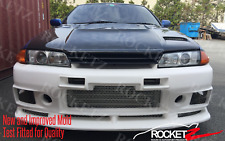 89-93 Skyline R32 GTR JDM Front Bumper Grill (New Mold) FAST SHIPPING USA CANADA