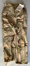 NEW WITH TAGS ARMY USGI DCU TROUSERS LARGE REGULAR DESERT CAMO MILITARY TACT