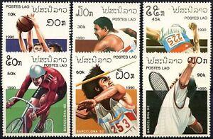 Laos 1990 SG#1179-1184 Olympic Games MNH Set #D58992