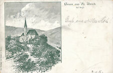 AK Gruss aus St. Ulrich bei Steyr, Oberösterreich   (G18)