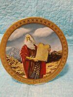 10 commandment plates danbury mint 12 plates
