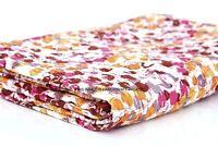 Indian Kantha Quilt Floral Gudari Bedding Blanket Throw Reversible Bedspread