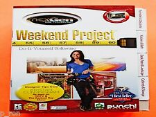 Punch Weekend Project - NEW Sealed DVD Rom