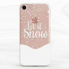 Let It Snow Winter Christmas Case Cover For iPhone 6S 7 8 Xs XR 11 Pro Plus Max