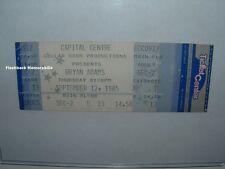 Bryan Adams Unused 1985 Concert Ticket Capital Centre Landover Md Rare D.C.