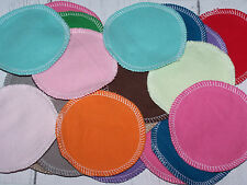 HM washable Make up Remover pads, cotton rounds 2 ply solid flannel 15 pack