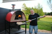 "Outdoor Wood Fired Pizza Oven ""Prime"", Made in Portugal, 36x36 Cooking Area"