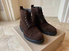 Belstaff Mens New Alperton Boots Brown Size 9