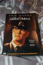 The Green Mile (DVD, 1999) Tom Hanks / Michael Clarke Duncan / Stephen King