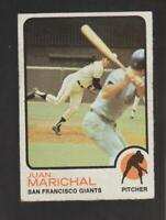 1973 Topps #480 Juan Marichal card, San Francisco Giants HOF