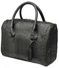 BO081PI Python Boston bag- women python purse by Cuadra boots