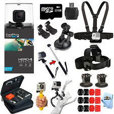 GoPro HERO4 Session + 16 Piece PRO Everything You Need Bundle!! NEW Release!!