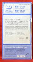 Izb Train Conductor Ec 24/26 Innsbruck - Amsterdam 10/1989 (AGK1462)
