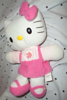 "Sanrio Hello Kitty Hand Puppet 10"" Plush Soft Toy Stuffed Animal"