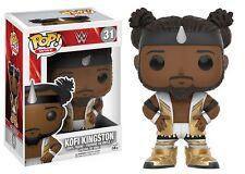WWE KOFI KINGSTON WRESTLING POP VINYL FIGURE FUNKO NEW