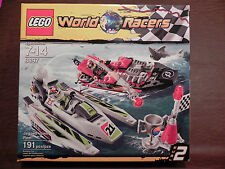 LEGO 8897 WORLD RACERS - JAGGED JAWS REEF -191 Pieces - NEW in SEALED BOX