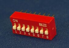 8 Way DIP Switch 25mA 8-Way DIL switch 5PCs