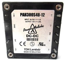TDK-LAMBDA, ISOLATED DC CONVERTER, PAH300S48-12, 300 WATTS