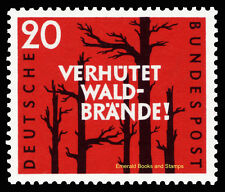 EBS Germany 1958 Forest Fire Prevention Michel 283 MNH**