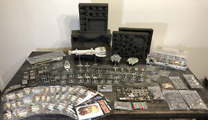 Star Wars X-Wing Miniatures Game Huge Lot Of Ships And Accessories FFG