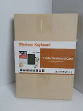 Wireless Keyboard And Case Tablet