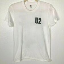 U2 The Joshua Tree Tour 1987 - 2017 Graphic T-Shirt Back Pics White Large