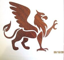 Griffin Stencil (Lion Body with Eagle Head/Wings) Reusable 10 mil Mylar Stencil