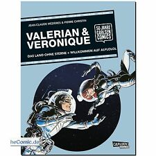 Valerian & Veronique 50 Jahre Carlsen Comics TWO-IN-ONE Science Fiction FUNNY