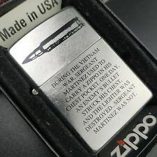 Zippo Bullet Zippo Story (Sgt Martinez, Vietnam), streetchrom, de 2010